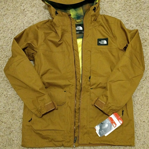 🎉SALE🎉 NWT Men s North Face Brown Jacket Medium d9868ced4